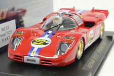 FLY C3 FERRARI 512S BUENOS AIRES 1971 NEW 1/32 SLOT CAR IN DISPLAY CASE *RARE*