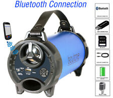 Boytone BT-40BL Portable Bluetooth Speaker Indoor/Outdoor, FM Radio, USB Port