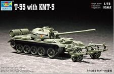 Trumpeter 1/72 T-55 with KMT-5 Mine Roller # 07283