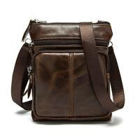 Men's Leather Messenger Bag Men Shoulder Bag Small Male Crossbody Bags Handbags