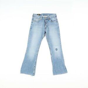Lee Denver Flare Bootcut Utilisé (Cod.F3032) W32 L32 en Jeans Vita Haute Unisexe