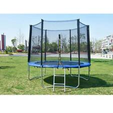 8FT Trampoline Kids Adults with Enclosure Net Indoor Outdoor Trampoline KK