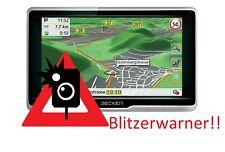 Becker Traffic Assist Navigatisgerät Blitzerwarner Radarwarner immer Aktuell