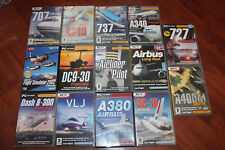 JOB LOT OF MICROSOFT PC FLIGHT SIMULATORS.