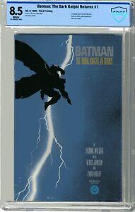 Batman The Dark Knight Returns  #1 CBCS  8.5  VF+ White pgs F Miller K Janson