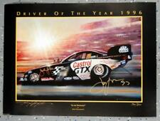 "NHRA FUNNY CAR 27.5""x20"" PRINT POSTER SIGNED BY JOHN FORCE & KENNY YOUNGBLOOD"
