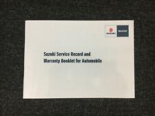 100% Genuine Suzuki Service History Book SUZUKI VITARA SWIFT ALTO