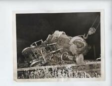 Vtg 1943 Wayland, New York RR Railroad Accident photo Train Wreck Lackawanna