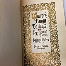 Vintage Book, Barrack Room Ballads and Other Departmental Ditties, by Kipling