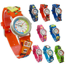 Ravel Kids Childs Boys Girls Watch 3D Silicone Band Choice of 9 Designs