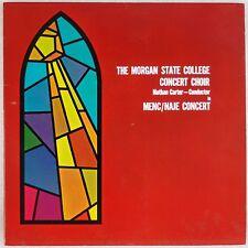 MORGAN STATE UNIVERSITY CHOIR: 60s Jazz Rock Gospel Styles LP Private