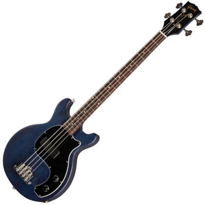 Gibson Les Paul Junior Tribute DC Bass - Blue Stain