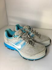 Nike Pegasus 29 Grey Blue Fitsole Lightweight 3 Trainers Running Gym