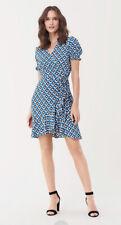 £240 Iconic DVF Wrap Dress, Diane Von Furstenberg Dress, Midi Wrap Dress, Size M