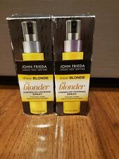 Lot of 2 John Frieda Sheer Blonde Go Blonder Controlled Lightening Spray 3.5 oz