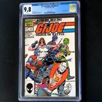 G.I. Joe Order of Battle #3 (1987) 💥 CGC 9.8 💥 Marvel GI Comic Book! Rare