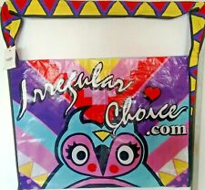 IRREGULAR CHOICE HAROLD OWL OVERSIZED SHOPPER BAG EX DISPLAY TAG ATTACHED.VGC