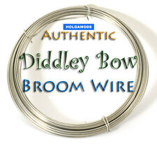 Authentic Diddley Bow and Cigar Box Guitar Broom Wire