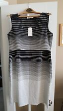 Angel Maternity Dress, Black and White Stripes, Size XL, NWT