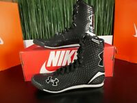 Under Armour Clutchfit Mens Boxing Shoes Black Silver 3022894-001 Size 7 RARE