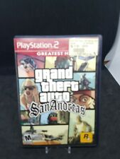 Grand Theft Auto San Andreas PS2 Playstation 2 GTA Complete With Manual/Poster