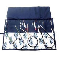 KnitPro knitting needle case for fixed circular needles