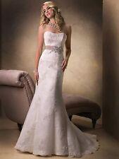 Maggie Sottero Giovanna Wedding Gown Bridal Dress sz 12 NWT