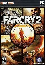 Far Cry 2 (PC DVD-ROM, 2008) NEW & FACTORY SEALED  w/ slipcover  SHOOTER