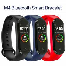 M4 Smart Band Watch Bracelet Blood Pressure Heart Rate Wristband Fitness Monitor