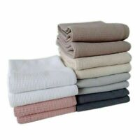 8 Pack Ultra Absorbent 100% Cotton Kitchen Quick Drying Dish Cloths Tea Towels