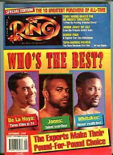 The Ring Boxing Magazine September 1997 Oscar De La Hoya EX 060716jhe