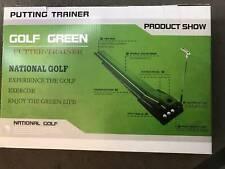Golf Putting Trainers Clubs Sport auto return Practice Putter Indoor Outdoor Mat