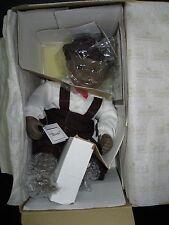 "11"" DAVID PORCELAIN DOLL YOLANDA BELLO ASHTON DRAKE 1992 ORIGINAL BOX"
