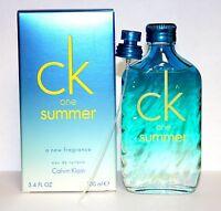 Ck One Summer 2015 By Calvin Klein 3.3/3.4oz. Edt Spray New In Box