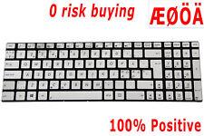 For Asus N550JK N550JV N750J N750JV Q550JK R750 Keyboard Finnish Nordic Backlit