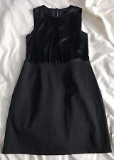 THEORY scoopneck Dress Black roobin Sheath dress LBD sz 4