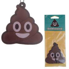 Funny Poop Emoji Chocolate Car Home Air Freshener Freshner