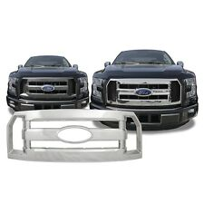 Chrome Grille Overlay FITS '16 2016 '17 2017 Ford F150 F 150 F-150 XL ONLY!
