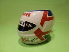 WR RACEWEAR  COFFEE TEA MUG HELMET NIGEL MANSELL - CANON RENAULT ELF - F1 GOOD