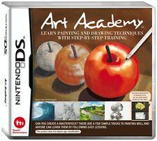 Art Academy Nintendo NDS DS Lite DSi XL Brand New FACTORY SEALED