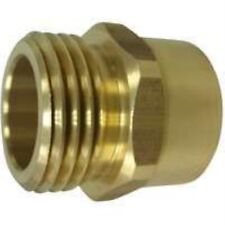 Mintcraft PMB-468-3L Hose To Pipe Connector, 3/4 In, Male X FIP, Brass