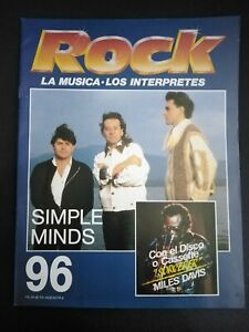ROCK REVISTA SIMPLE MINDS Nº 96