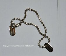 CUSTOM 1/6 Scale 1/6 Wolverine Metal dog tag Hugh Jackman necklace