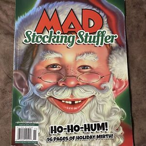 Mad Magazine Stocking Stuffer 2020/2021 Reissue Special NEW 96 pages of holiday