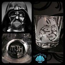 Star Wars Whiskey Tumbler Darth Vader FREE Name Engraving! Personalised Gift!