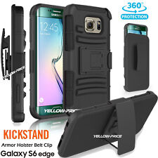 Hybrid Impact Belt Clip Case Holster w/Stand Cover For Samsung Galaxy Note Edge