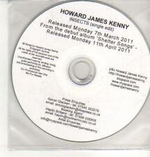 (CQ396) Howard James Kenny, Insects - 2011 DJ CD