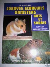 ELEVAGE COBAYES ECUREUILS HAMSTERS RATS.. ED. BORNEMANN
