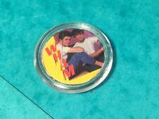 Wham collectors 44mm diameter pin badge