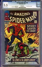 Amazing Spider-Man #40 CGC 5.5 FN- Universal CGC #1305698029